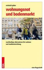 Titelseite des Buchs ,Wohnungsnot und Bodenmarkt'
