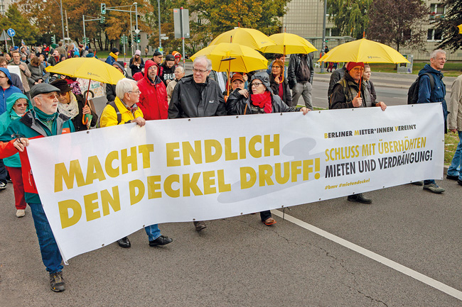 Mietendeckel-Demonstration