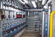 Rohrleitungen einer Heizungsanlage