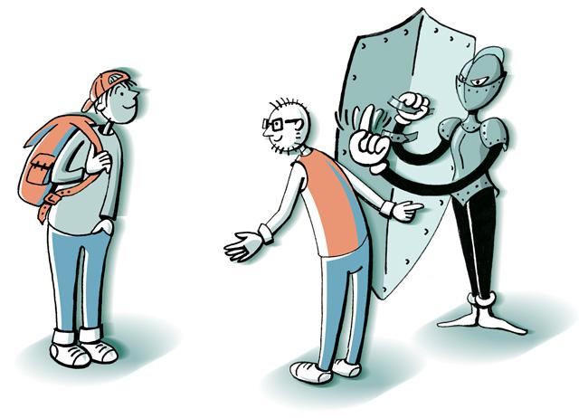 Illustration: Mitbewohner brauchen eigene Mitgliedschaft