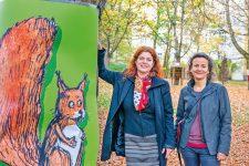 Aktivistinnen Dimitroff und Wulff