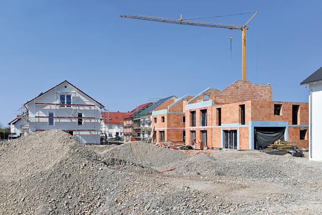 Neubau von Wohnungen in Feldkirchen bei München