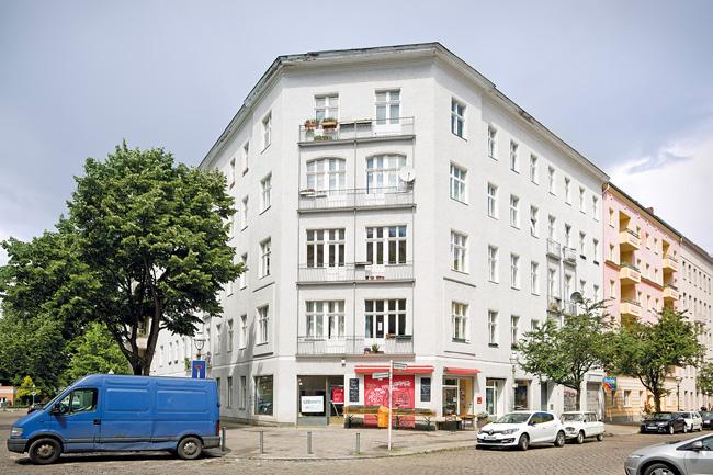 Eckhaus in der Kreuzberger Großgörschenstraße