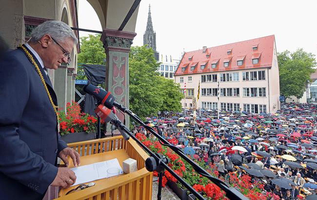 Ulms Oberbürgermeister Gunter Czisch