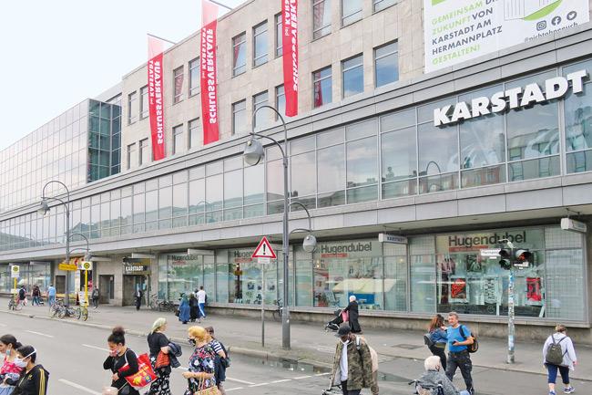 Karstadt-Kaufhaus am Hermannplatz