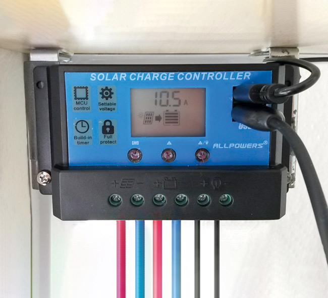 Controller für die Batterie-Einspeisung