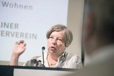 Katrin Lompscher als Gast bei der BMV-Delegiertenversammlung im Mai 2018