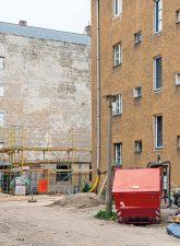 Baustelle Grellstraße/Prenzlauer Allee