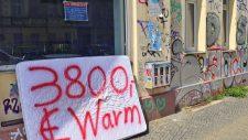 Matratze mit Beschriftung: 3800 € Warm