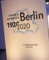 Ausstellungsplakat Berlin 1920/2020