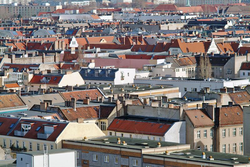 Blick auf das Berliner Häusermeer
