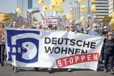 Demo-Plakat: Deutsche Wohnen stoppen