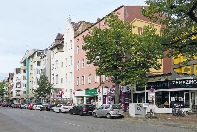 Pichelsdorfer Straße in der Wilhelmstadt