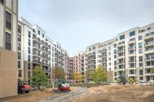 Neubauten auf der Schöneberger Linse