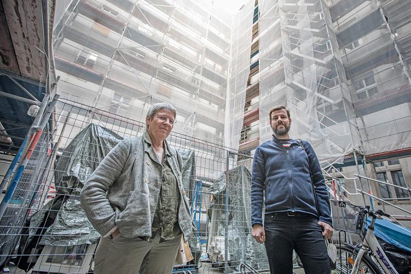 Doris Koch und Daniel Schneider vom ,Accentro-Häuser-Netzwerk'