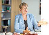Sozialsenatorin Elke Breitenbach