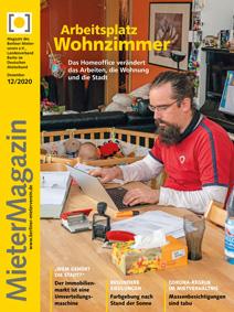 Titelseite MieterMagazin 12-2020