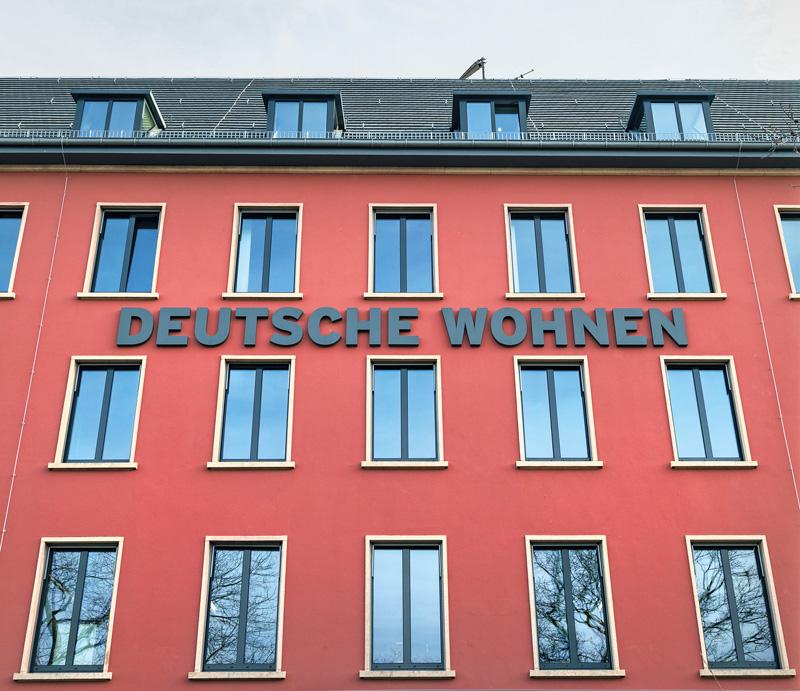 Geschäftsstelle der Deutschen Wohnen