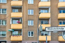 Fassade Windscheidstraße 3