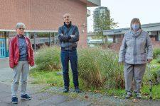 Byrgit Balder, Marc Bock und Christel Wagner vom Mietentisch Gropiusstadt