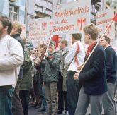 Maidemonstration der Außerparlamentarischen Opposition (APO) 1968