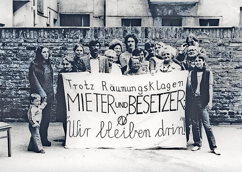 Hausbesetzung, um 1980