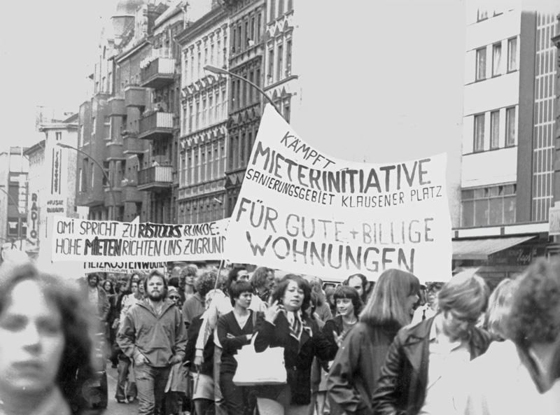 Mieterdemonstration 1983