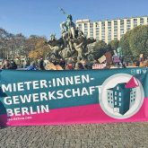 Banner der Mieter:innengewerkschaft