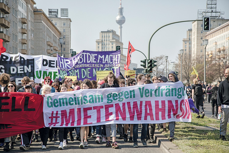 Mieterdemo vom April 2019