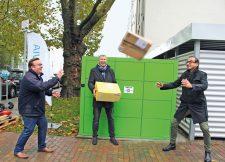 Präsentation der Paketbox durch Vonovia