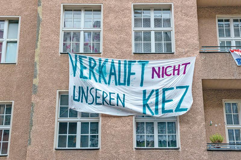 Transparent: Verkauft nicht unseren Kiez