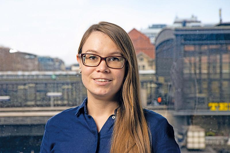 Irina Krüger von der Verbraucherzentrale Berlin