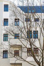 Fassade des Hauses Exerzierstaße 9