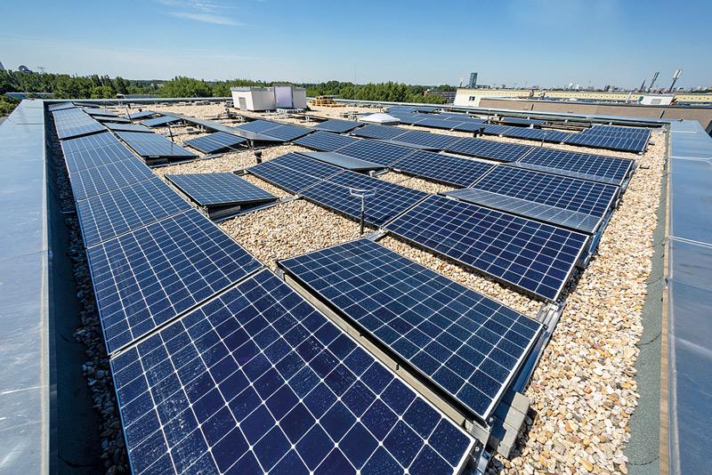 Fotovoltaik auf dem Dach