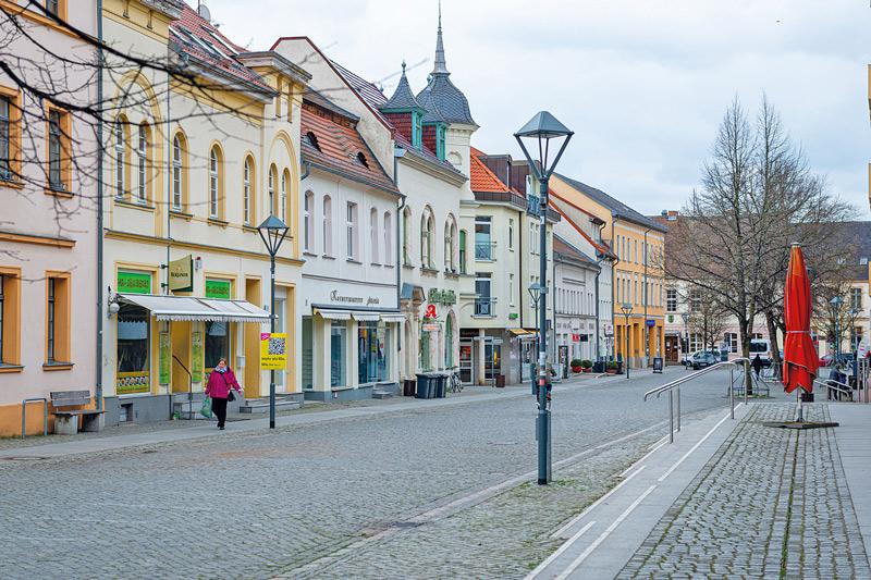 Innenstadt von Bernau