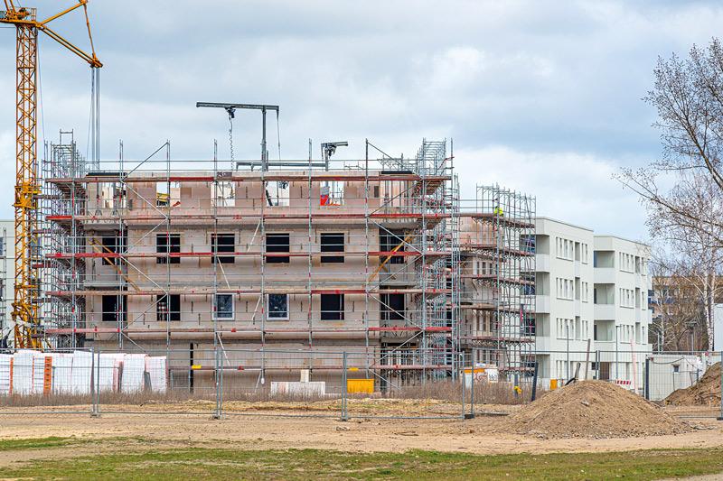 Neubau: Weiße Stadt Oranienburg