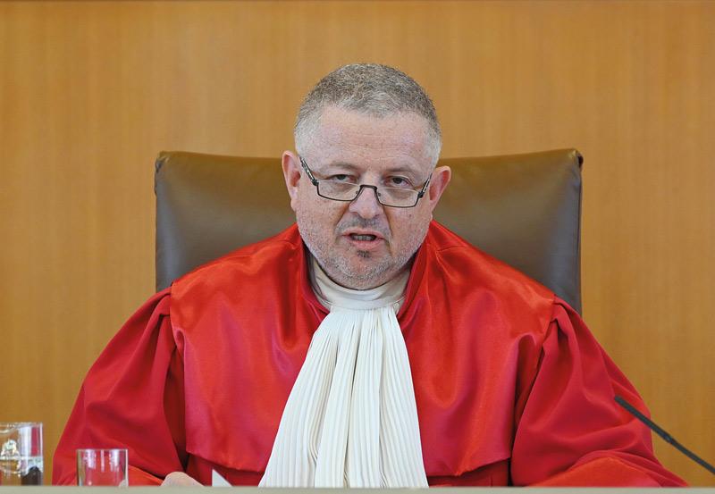 Verfassungsrichter Peter M. Huber