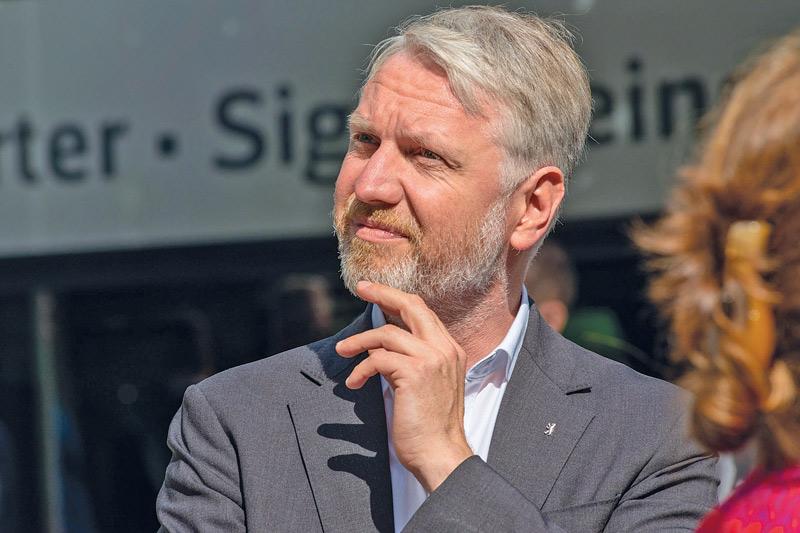 Sebastian Scheel, Senator für Stadtentwicklung und Wohnen
