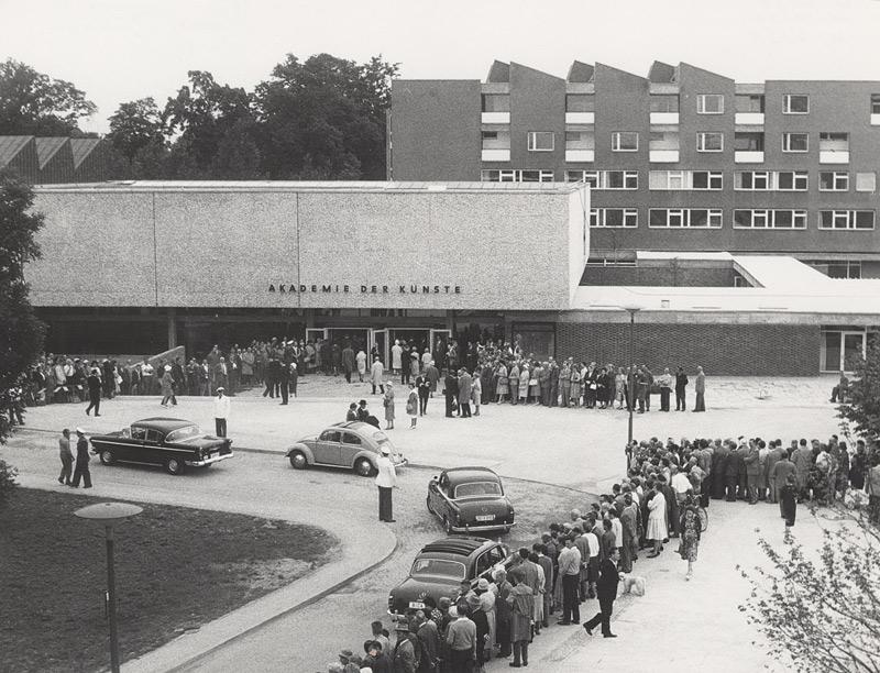 Eröffnung der Akademie der Künste