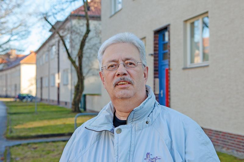 Märchenviertel-Bewohner Lutz Czieselsky