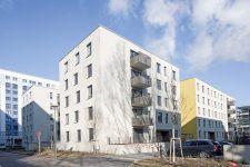 Neue Wohnbauten an der Heinrich-Heine-Straße