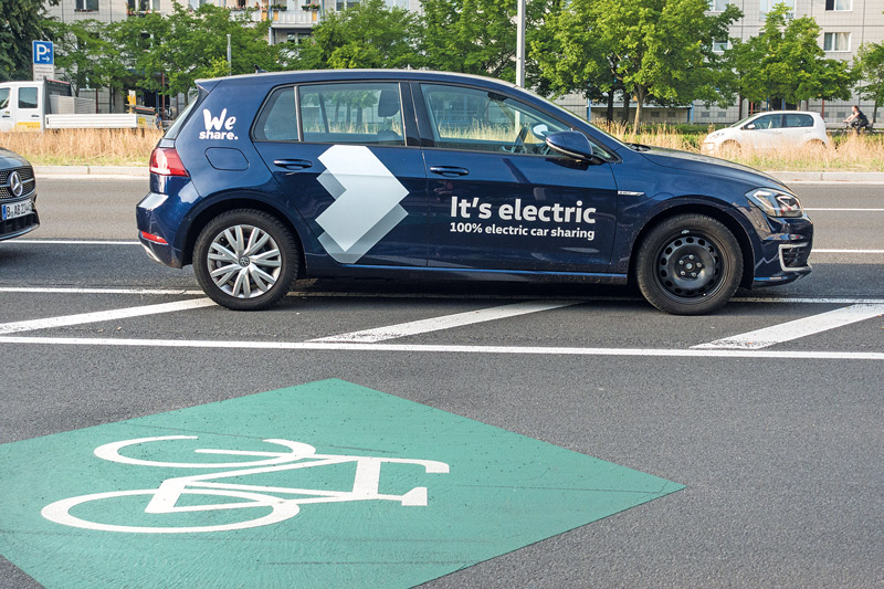 Carsharing-Elektroauto