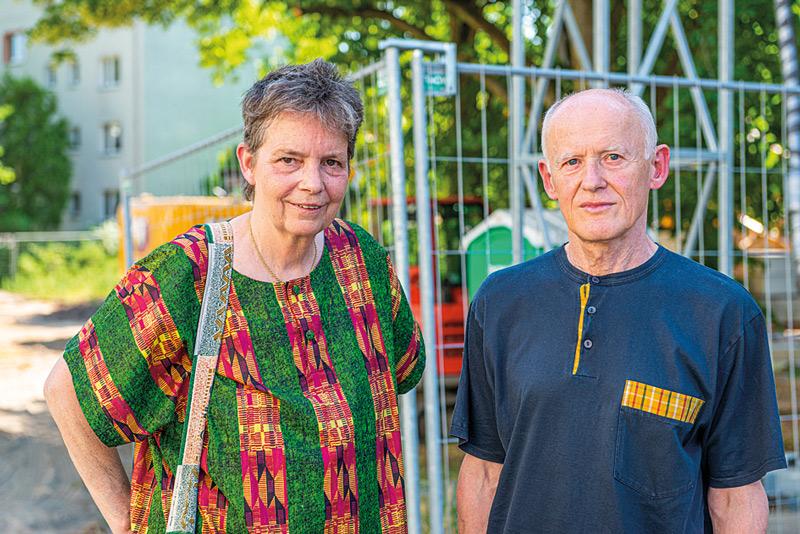 Dr. Susanne Willems und Ralph Adam