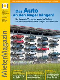 Titel MieterMagazin 8-2021
