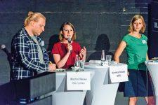 Podiumsdiskussion beim Wahlforum des BMV