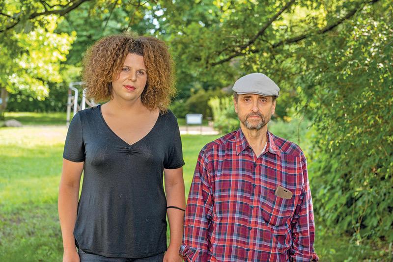 Annabell Dutschmann und Michael Drohne