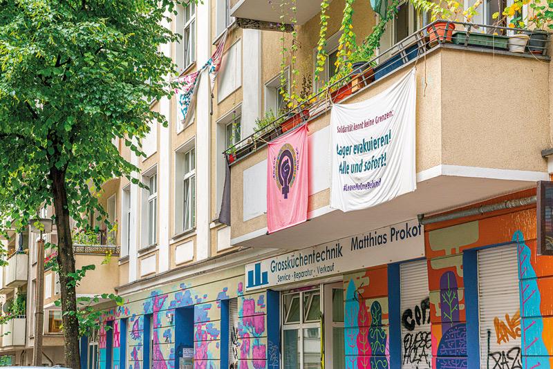 Wohnhaus in der Voigtstraße in Friedrichshain