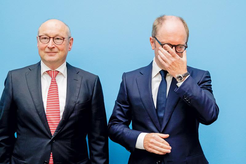 Die Konzern-Chefs Rolf Buch und Michael Zahn