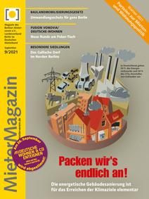 Titel MieterMagazin 9-2021