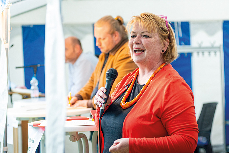 SPD-Bundestagsabgeordnete Mechthild Rawert